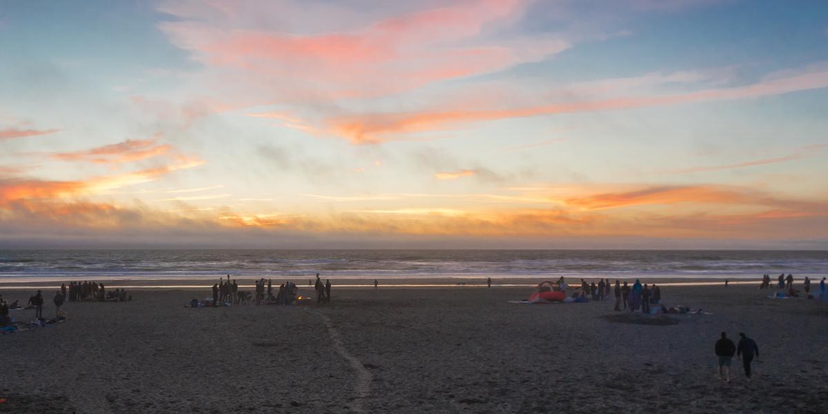 Ocean Beach Golden Gate National