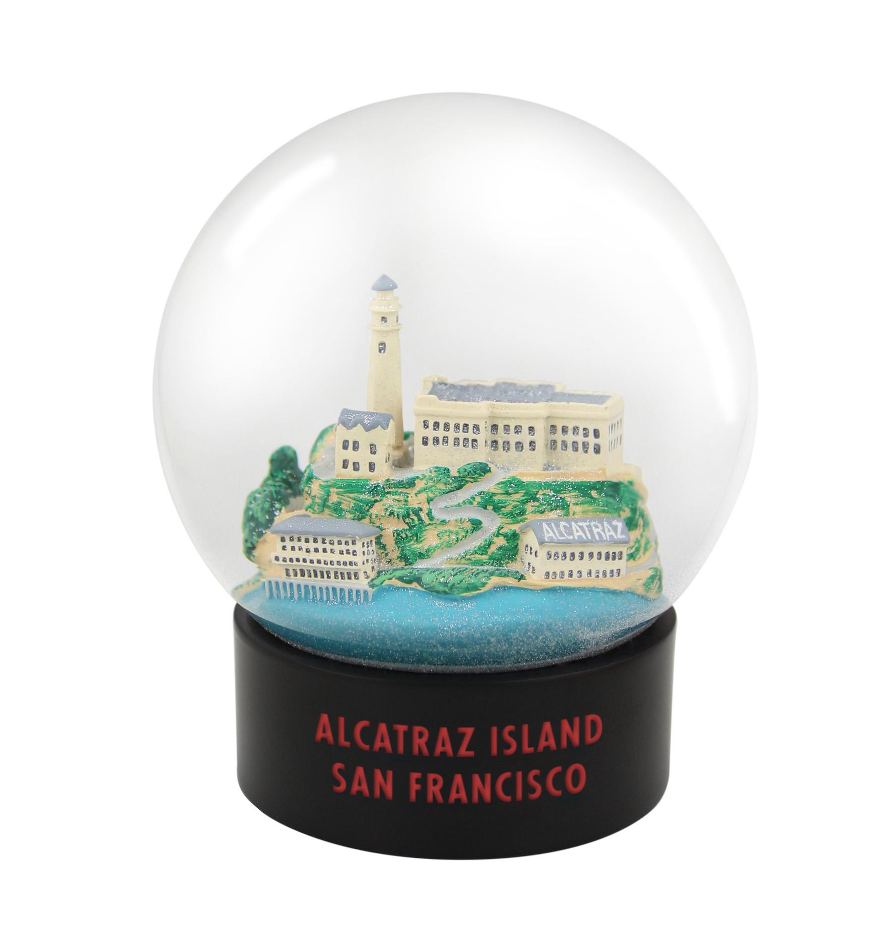 Alcatraz Fog Globe