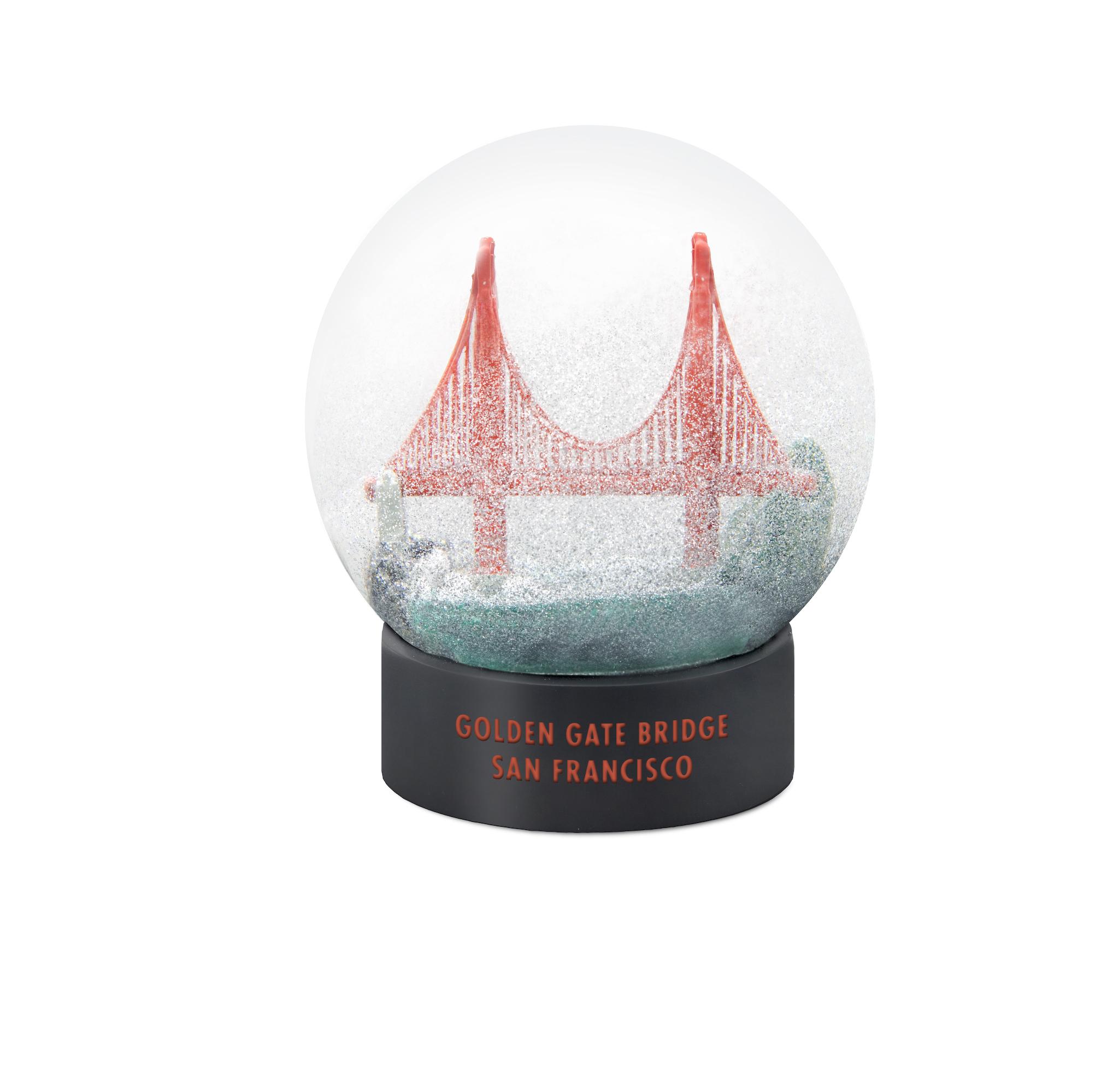 Golden Gate Bridge Fog Globe