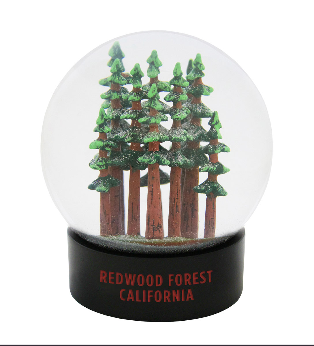 Redwood Forest Fog Globe