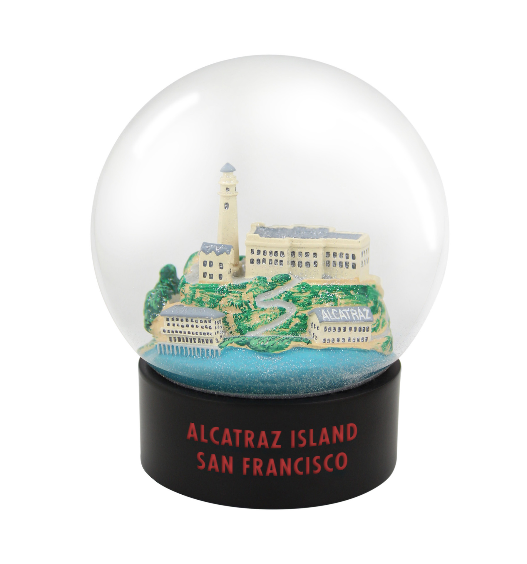 Alcatraz Island Fog Globe