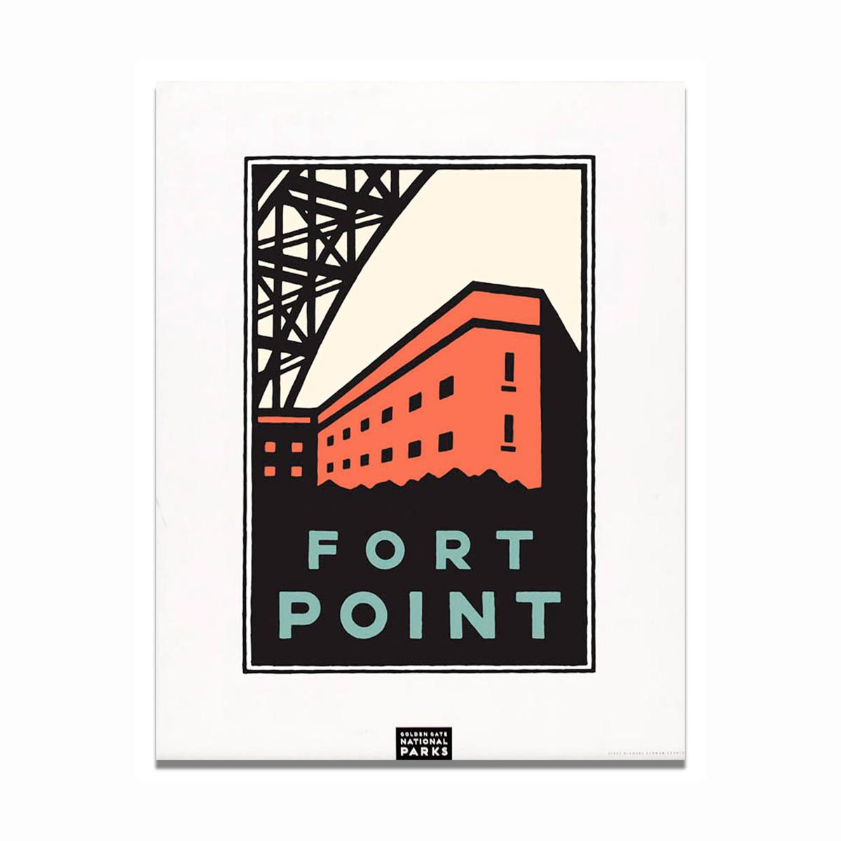 Schwab Fort Point Print