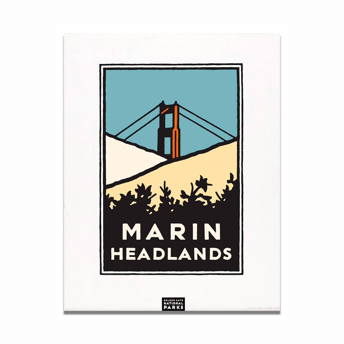 Schwab Marin Headlands Print