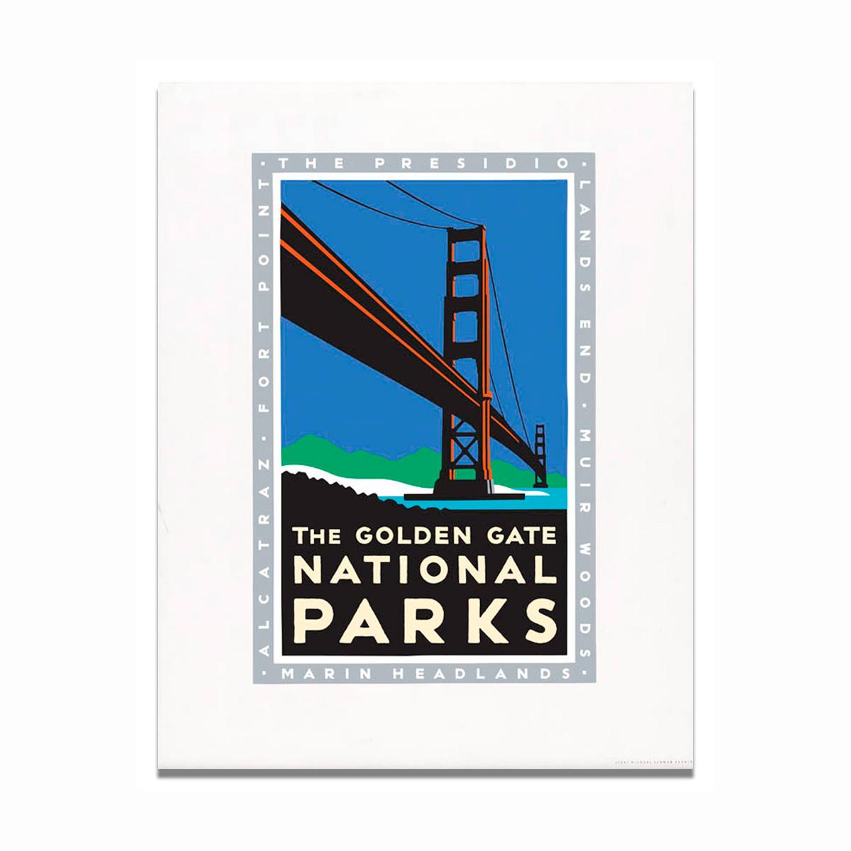 Schwab Golden Gate National Parks Print