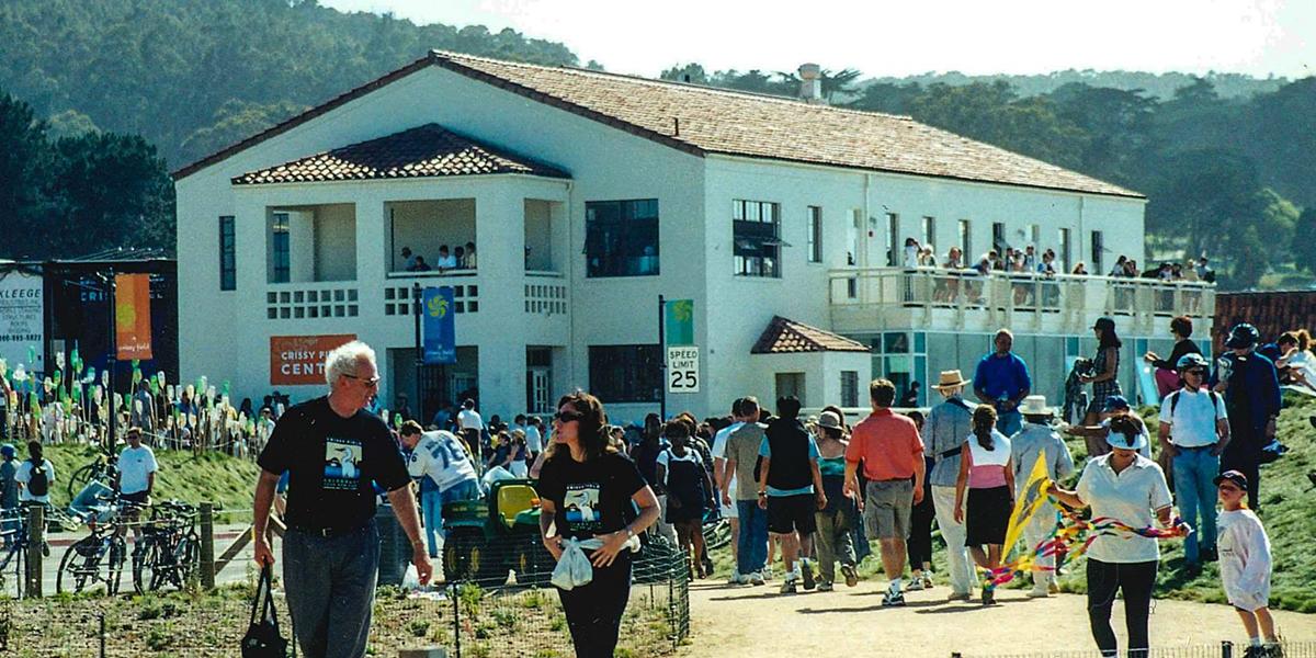 2001 Crissy Field Center Opening