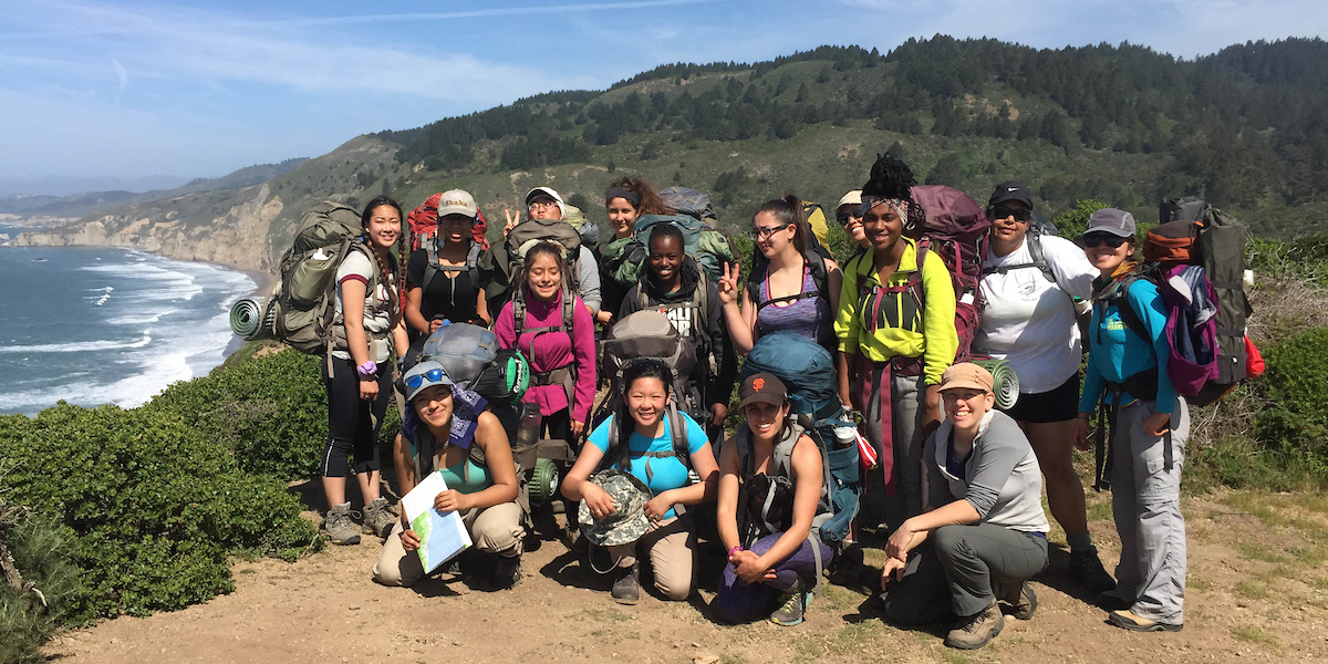2015 I-YEL Backpacking Trip in Point Reyes
