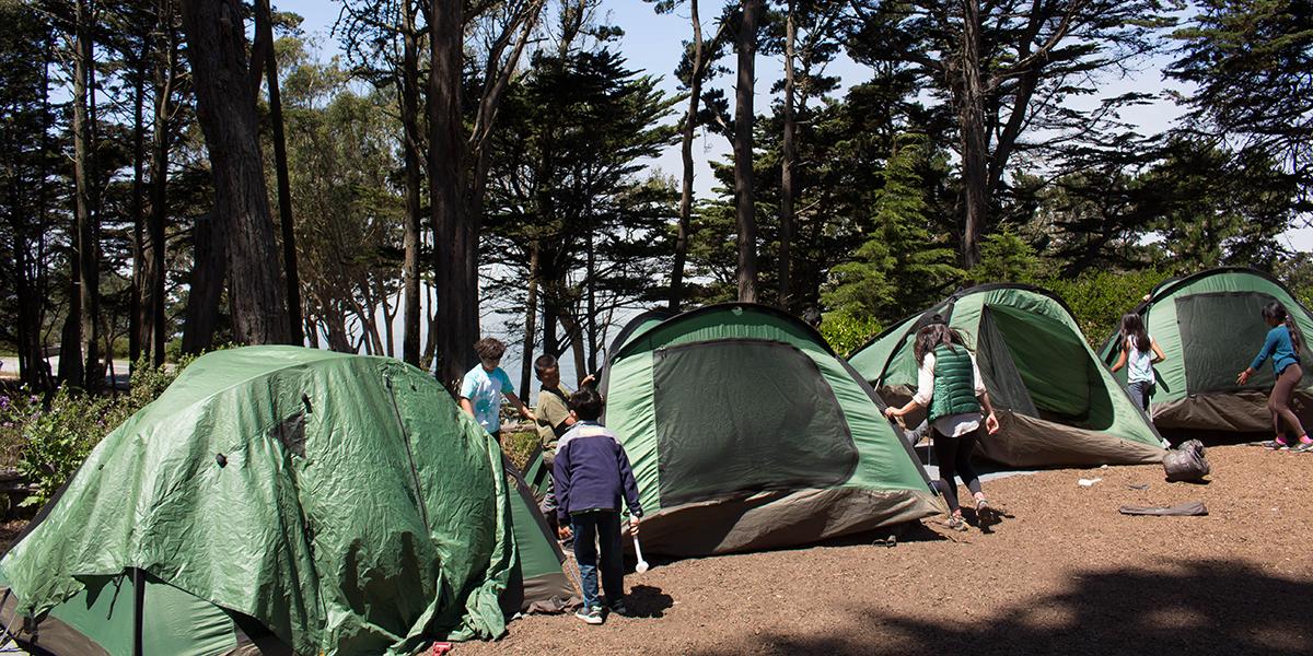 2019 Camping at the Presidio
