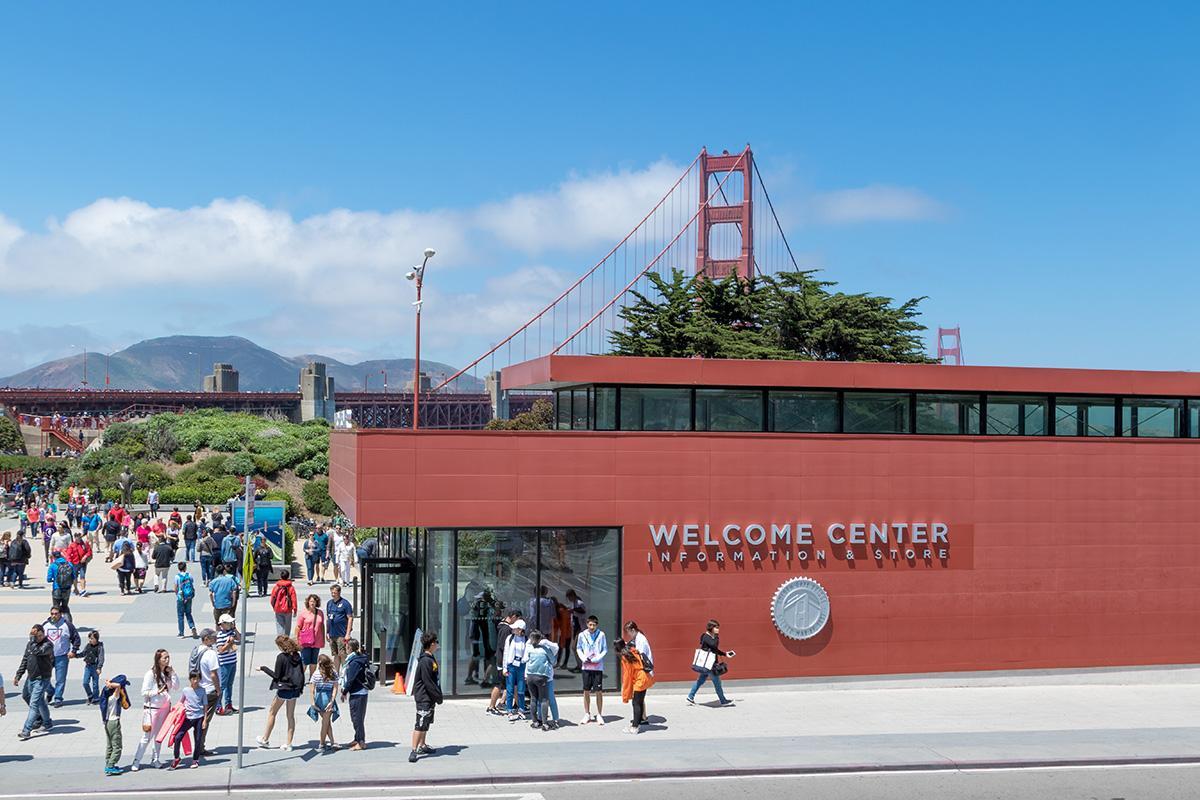 Golden Gate Bridge Pavillion Welcome Center