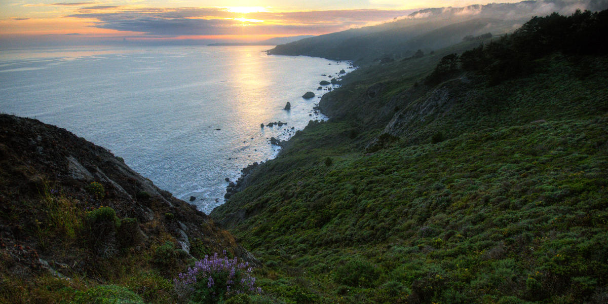 Views from Muir Beach Overlook