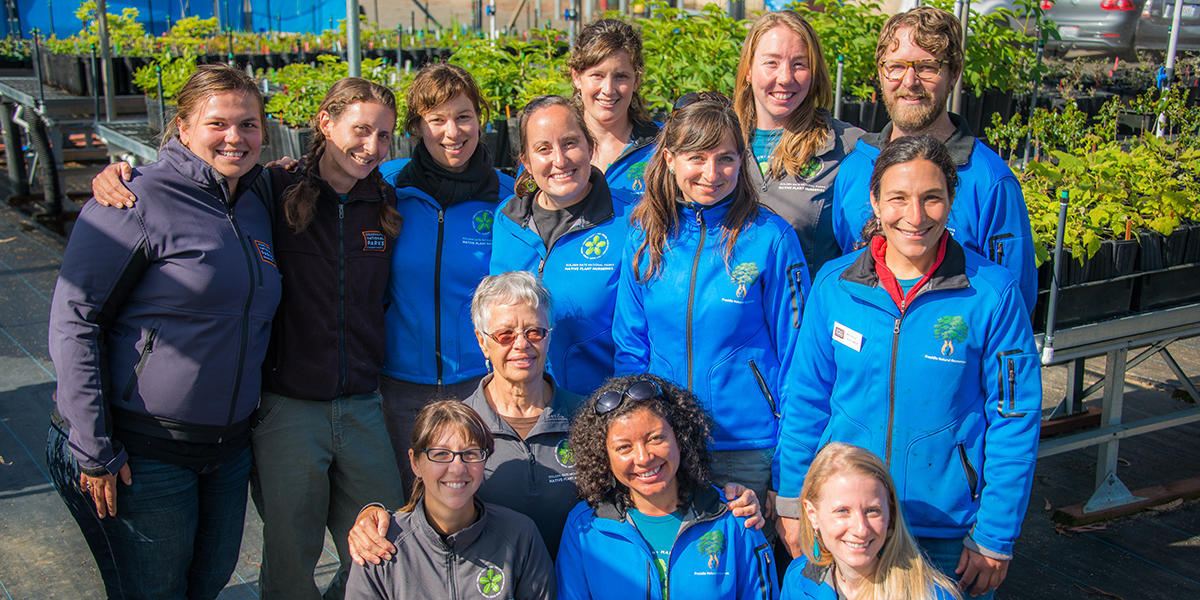 Presidio Native Plant Nursery staff