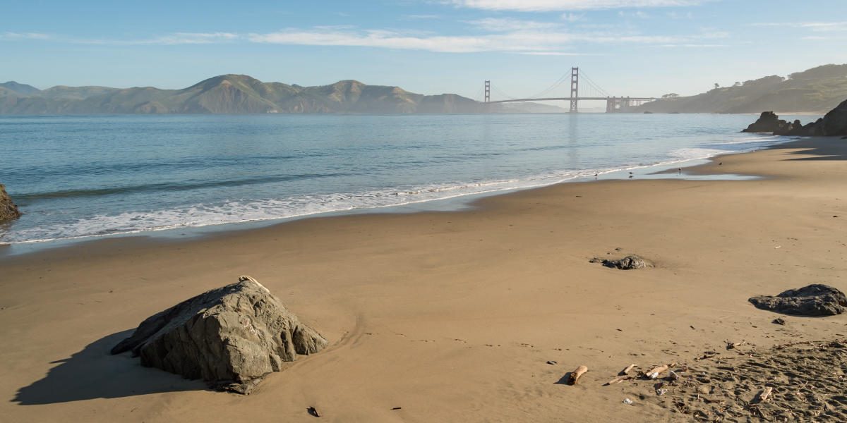 A calm scene from China Beach
