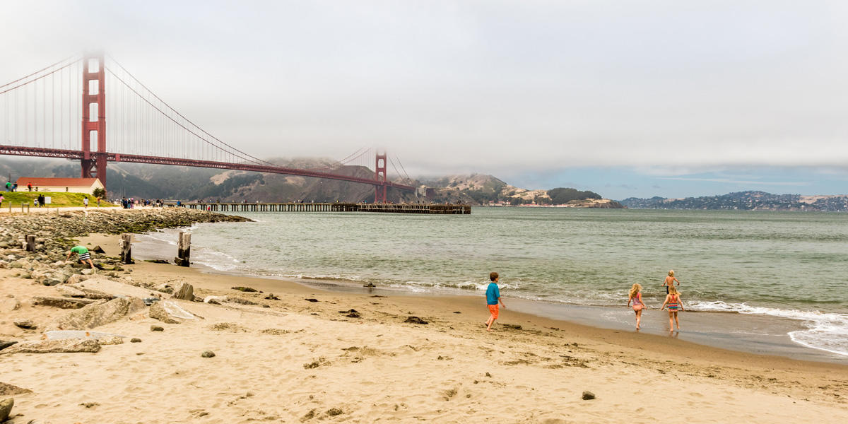East Beach, Crissy Field