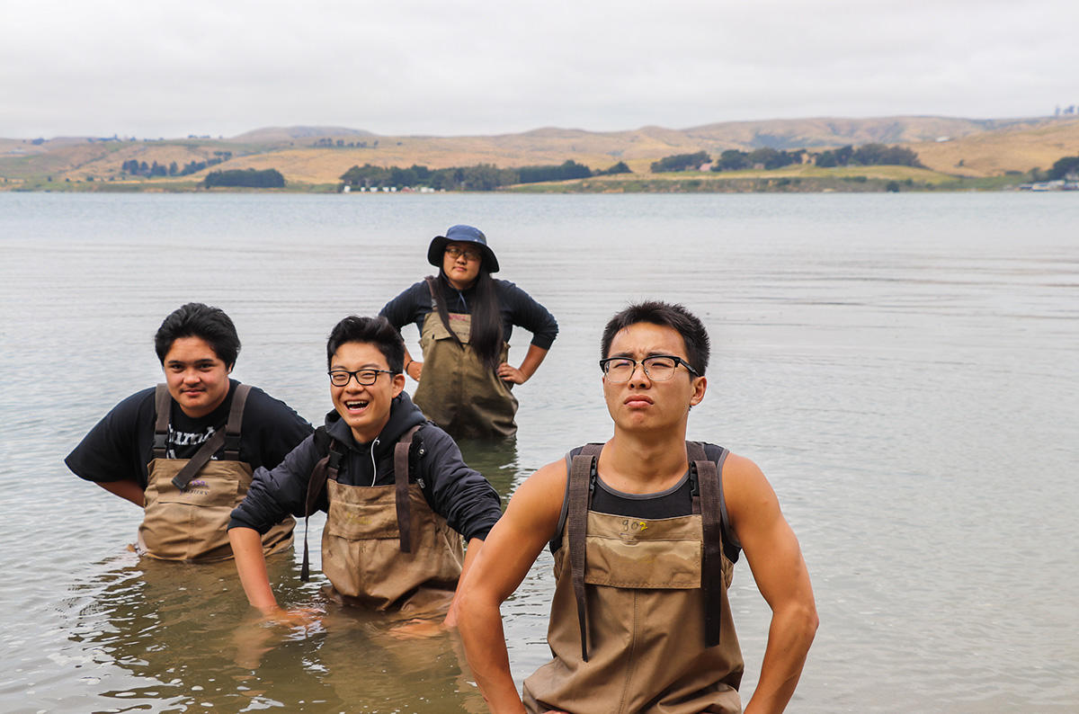 Youth photographers' images from Crissy Field Center programs during the summer of 2018.