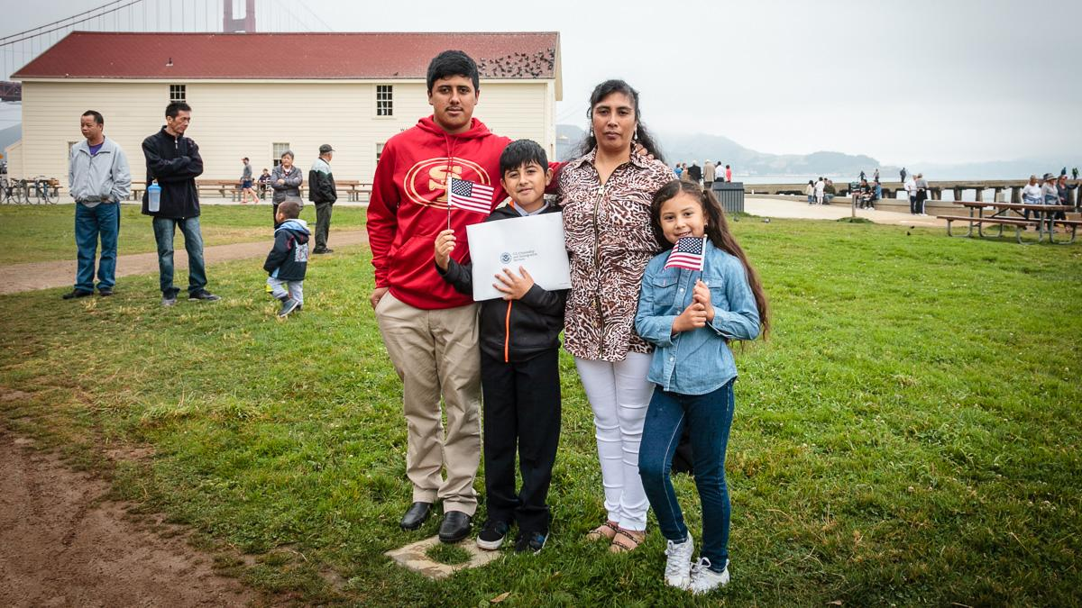 Crissy Field Naturalization Ceremony