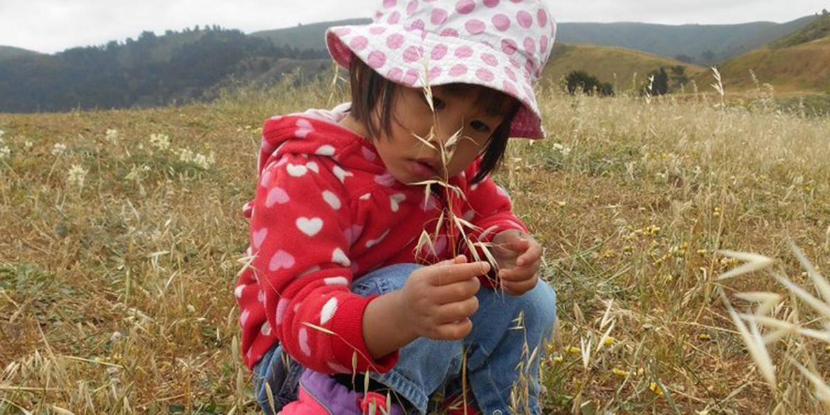 Even the littlest ones can make a big difference in the wide spaces of our national parks