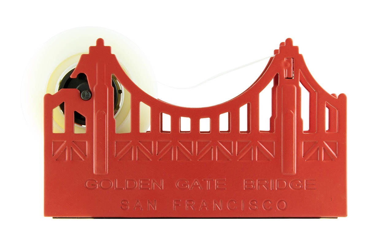 Golden Gate Bridge tape dispenser.