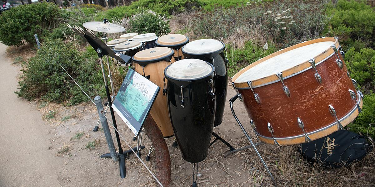 Tunes on Trails outdoor performance at Lands End