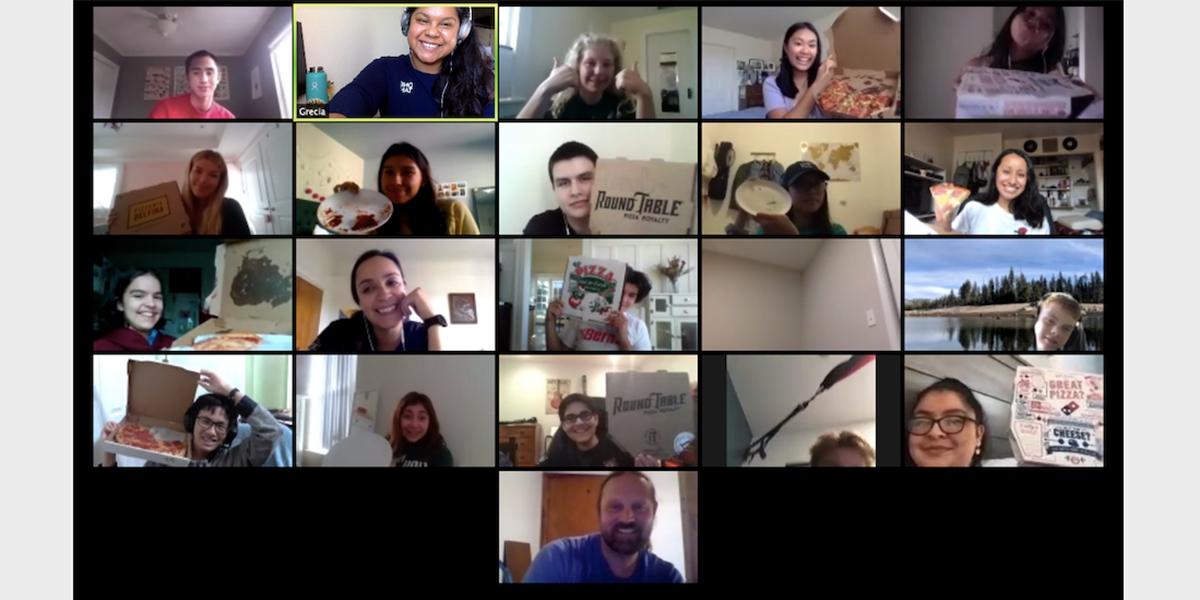 LINC Virtual Pizza Party