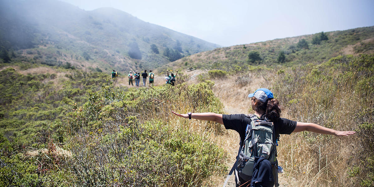 Hiking the SCA Trail in the Marin Headlands
