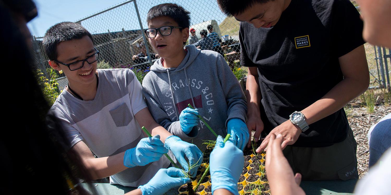 Nursery program at Oceana High School in Pacifica