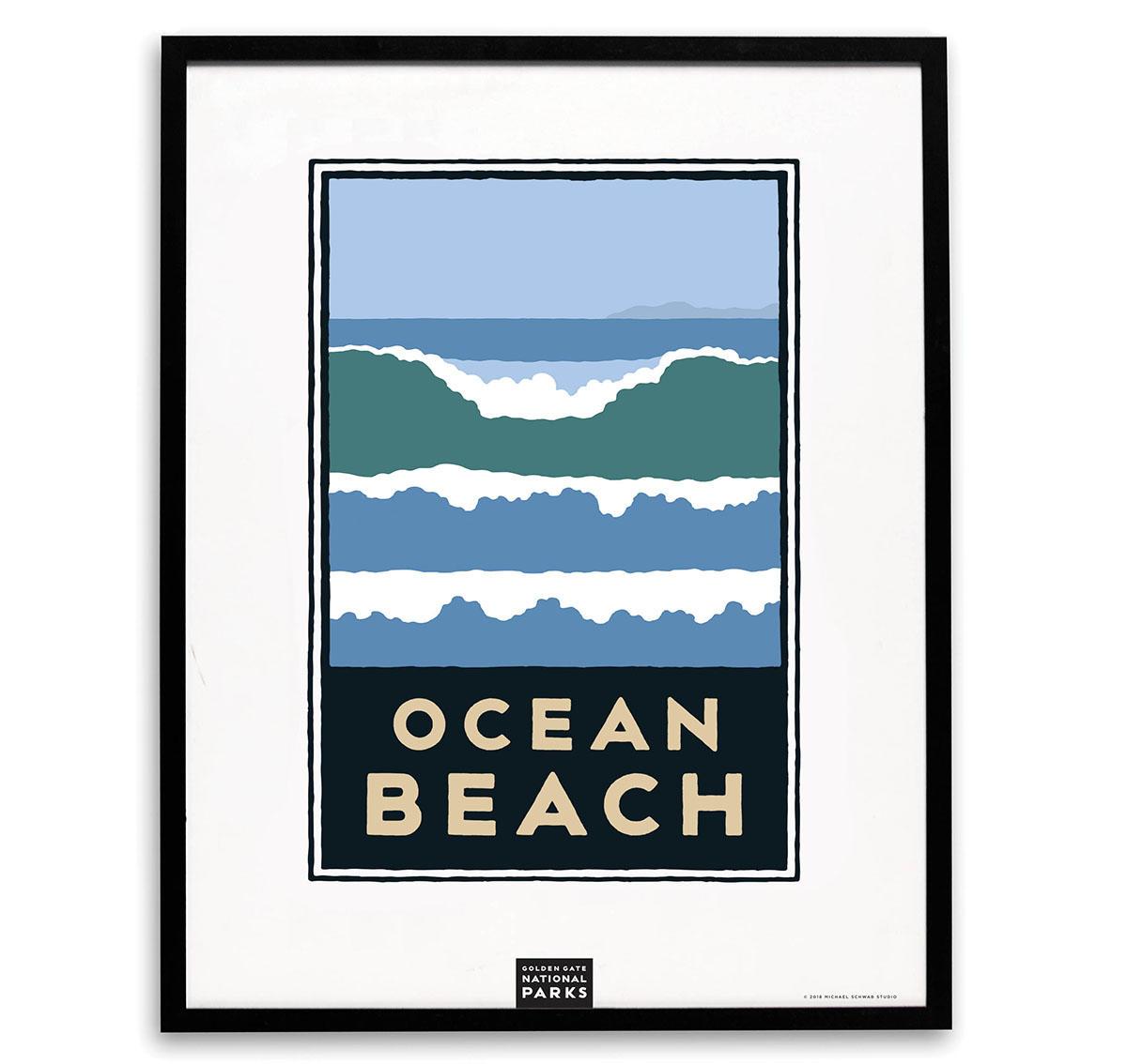 Ocean Beach Michael Schwab print