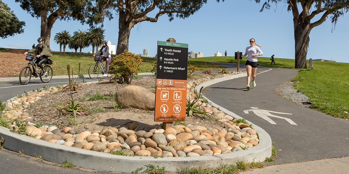 Bay Trail at Fort Mason