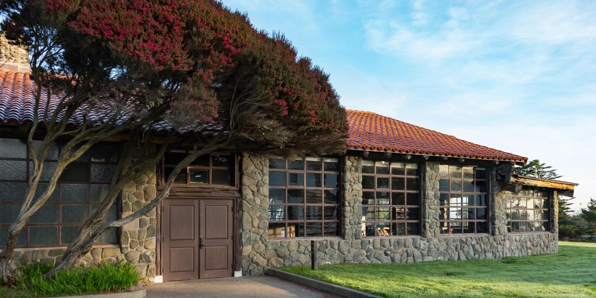 A cabin in the Presidio