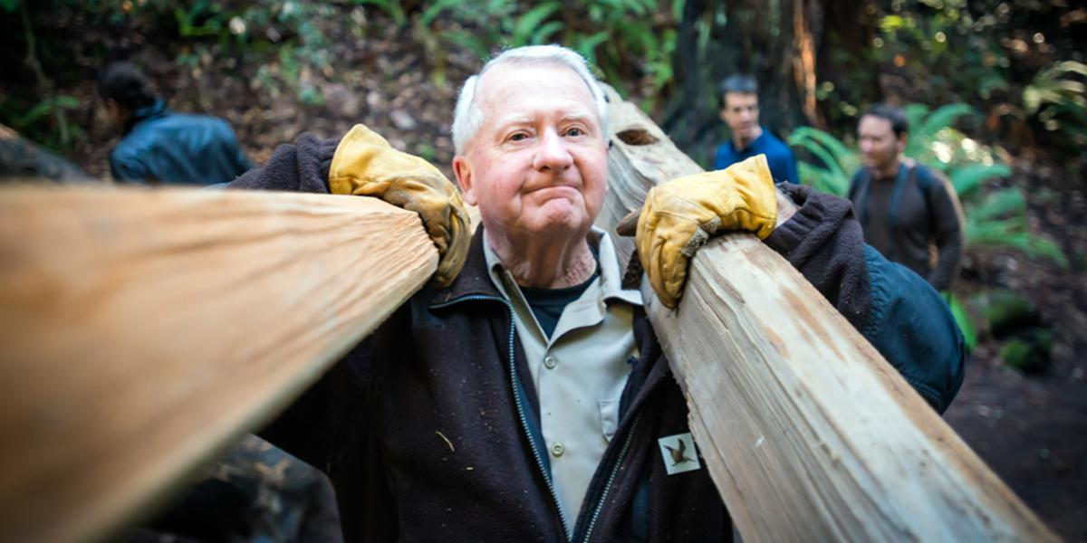 Muir Woods volunteer