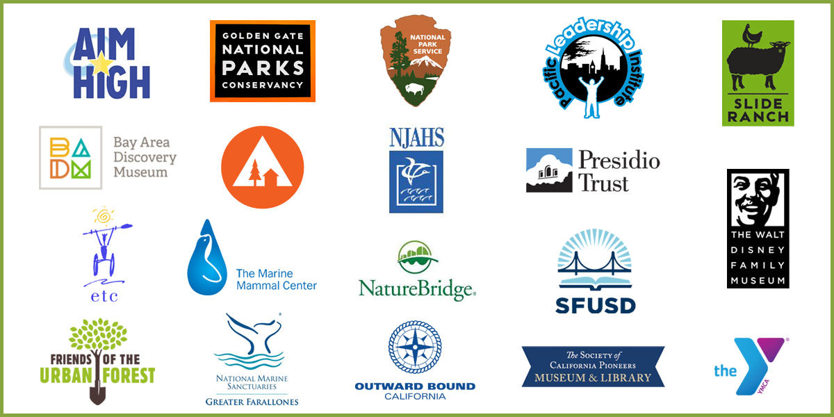 PYC collaborates with more than fifteen youth serving organizations in the Golden Gate National Parks