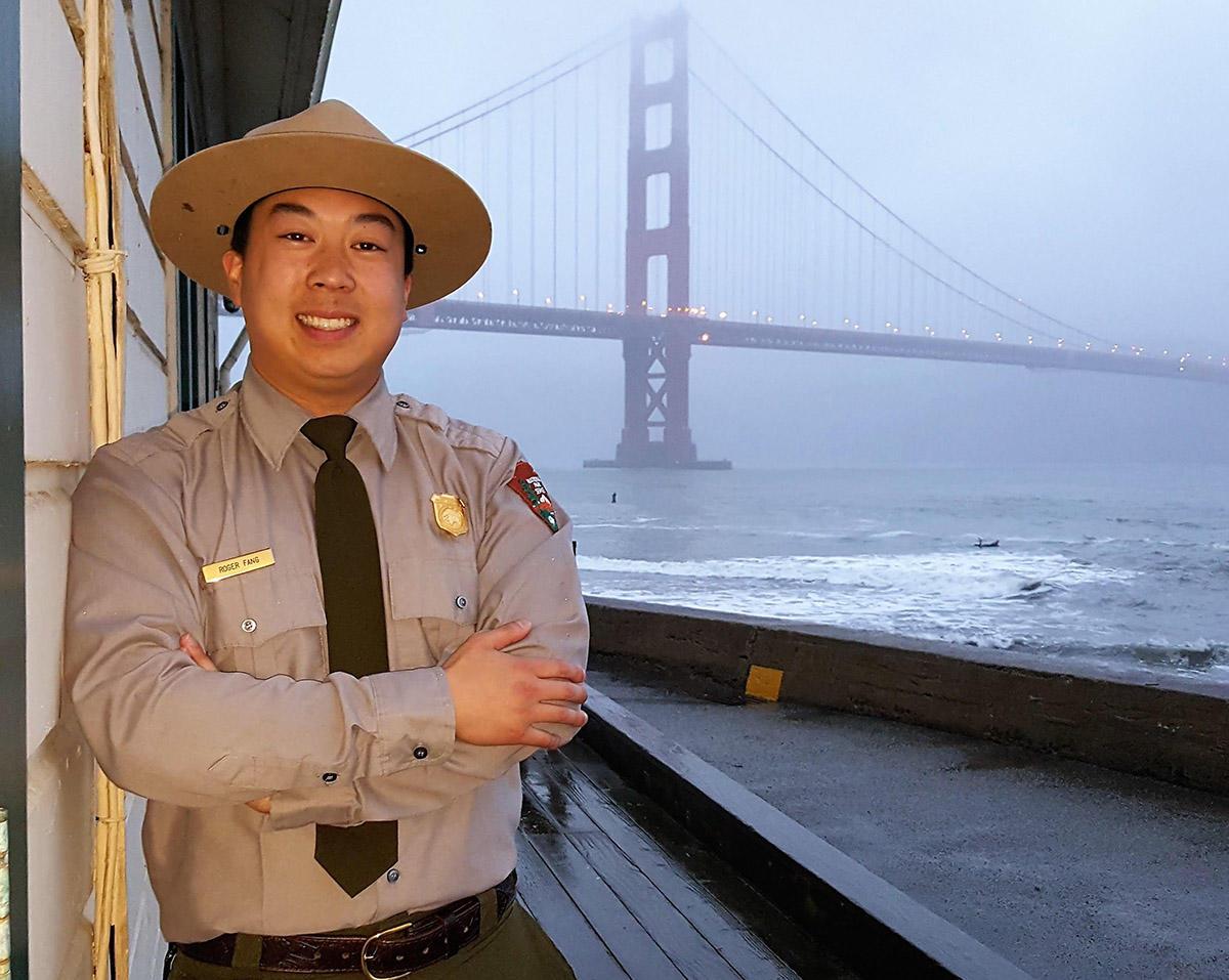 Park Ranger Roger Fang.