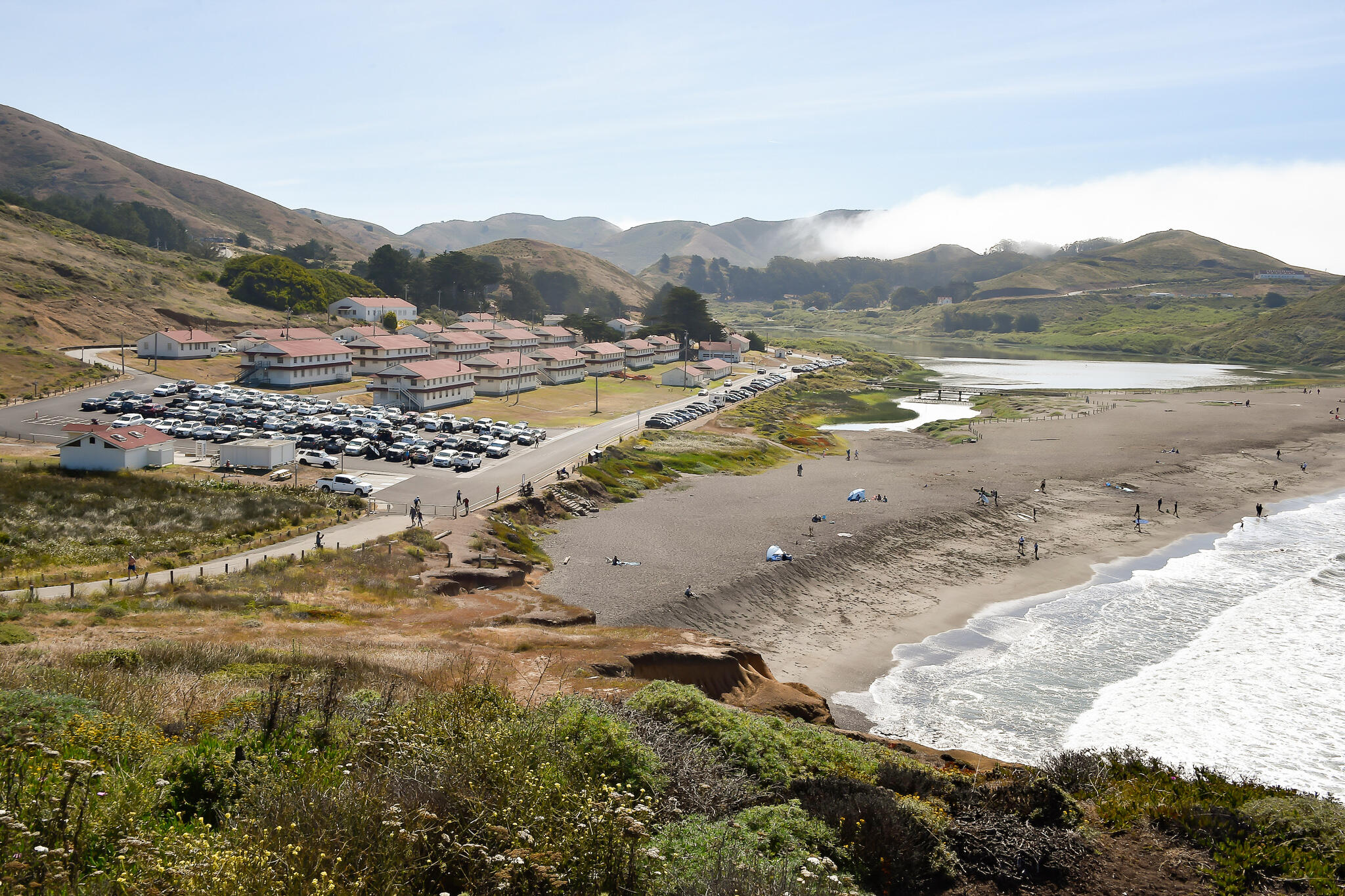 View of Rodeo Beach