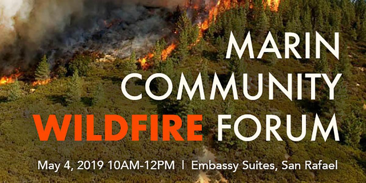 Marin Community Wildfire Forum
