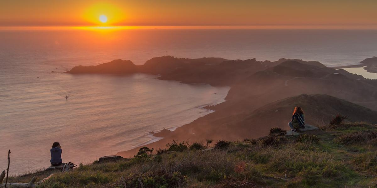 Sunset from the Marin Headlands