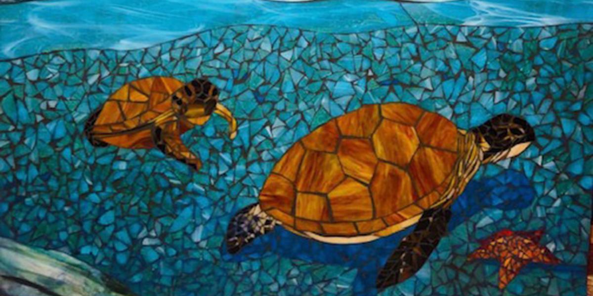 Building Mosaics, Alcatraz Gardens Workshop Series