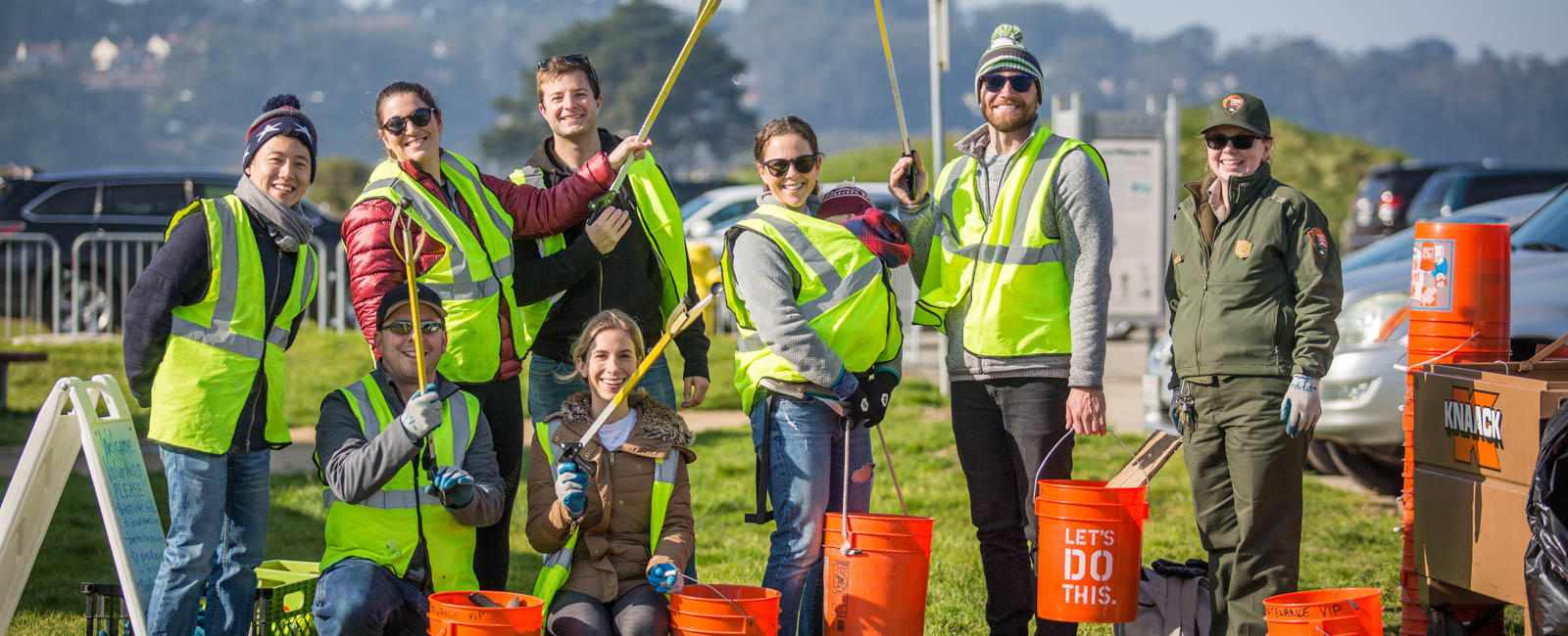 Golden Gate Maintenance Volunteers
