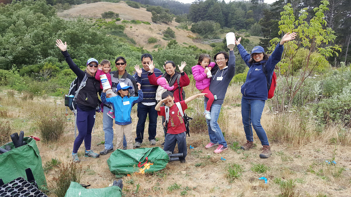 Families at El Polin Springs