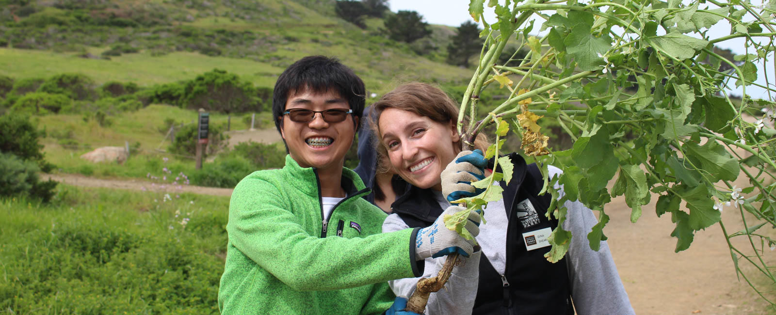 Park Stewardship Intern and Volunteer