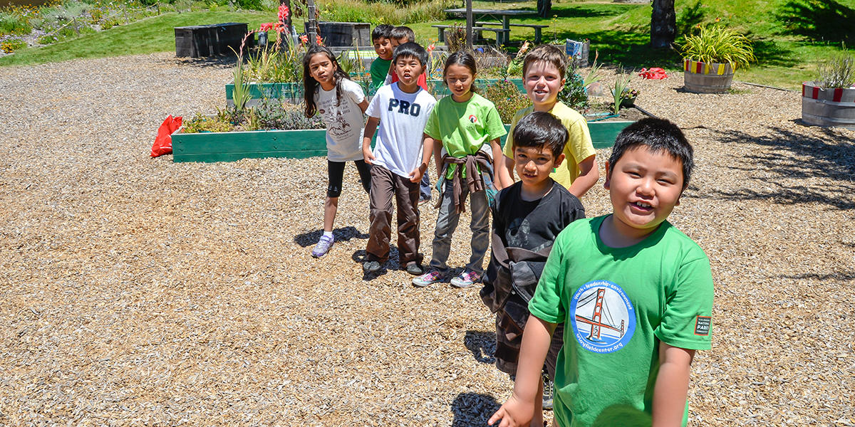 Youth education at Crissy Field Center