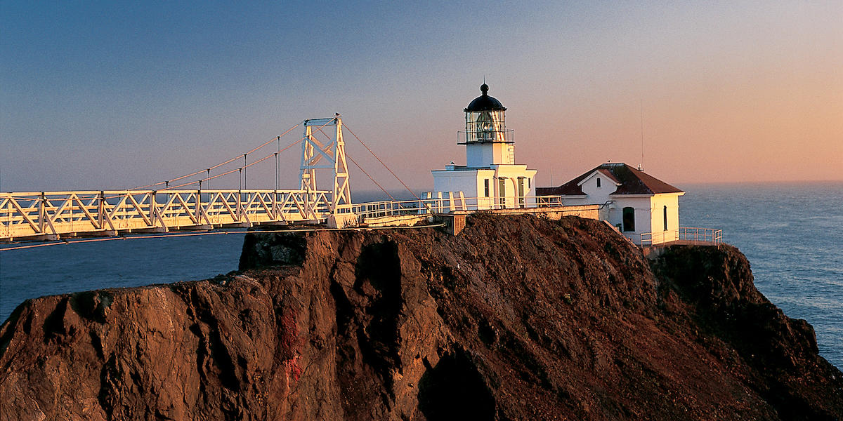 Sunset at Point Bonita Lighthouse