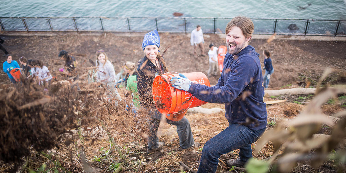 volunteer; Earth Day