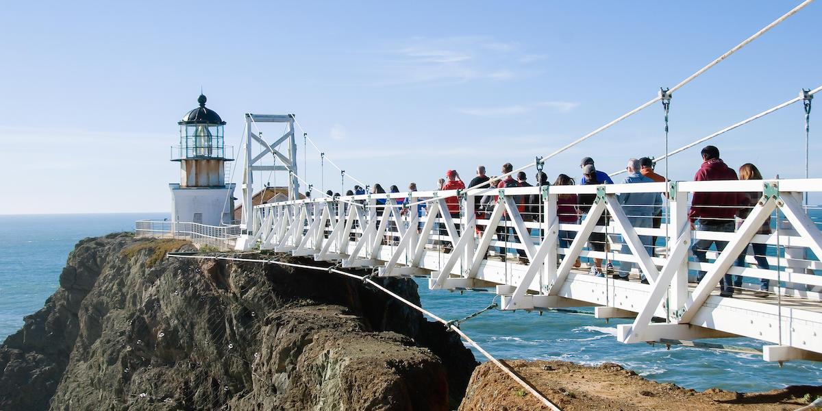 Tour at the Point Bonita Lighthouse