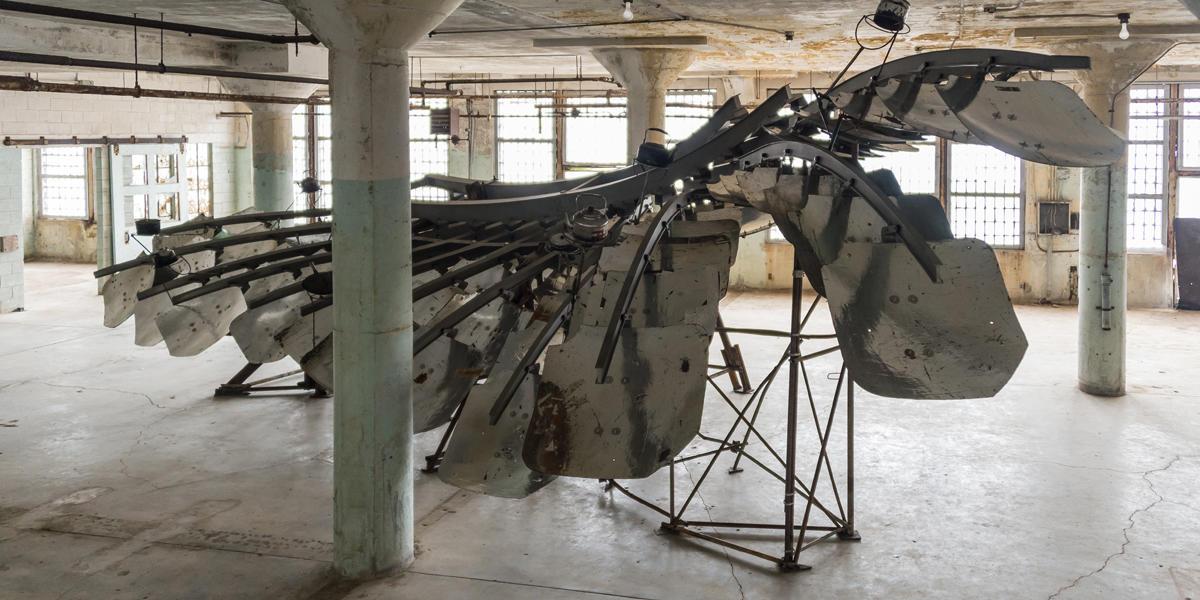 Ai Weiwei on Alcatraz, Refraction exhibit