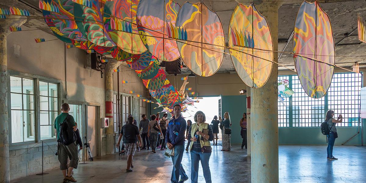 Ai Weiwei Art Installation at Alcatraz