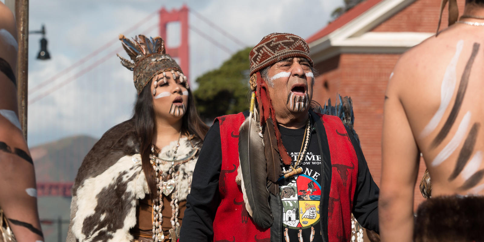 native Americans and the golden gate bridge
