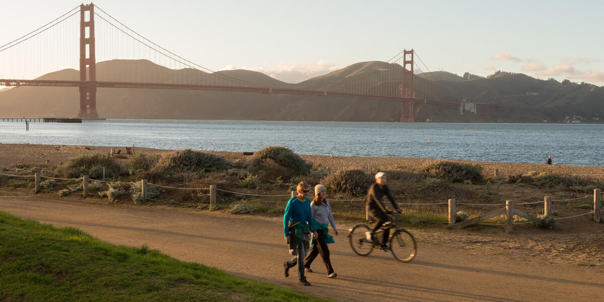 Crissy Field visitors
