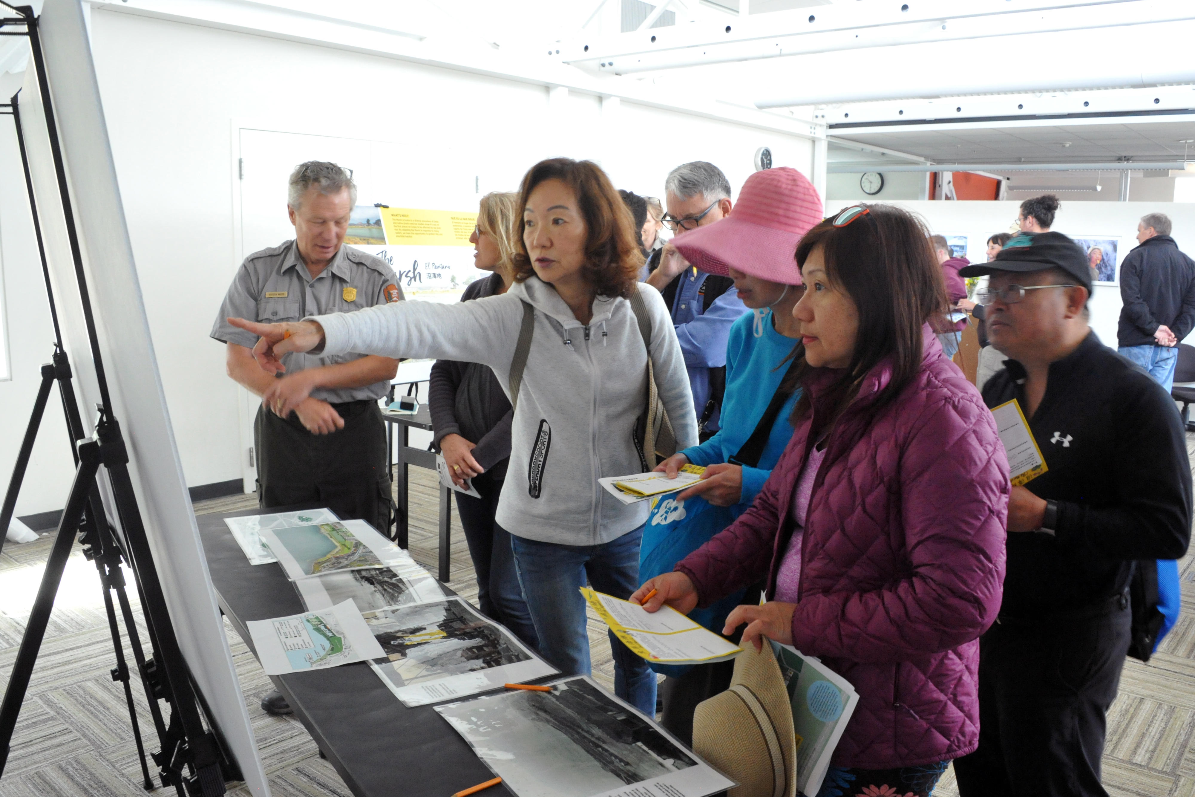 Scenes from Crissy Field Next Open House at the Crissy Field Center on June 1, 2019.