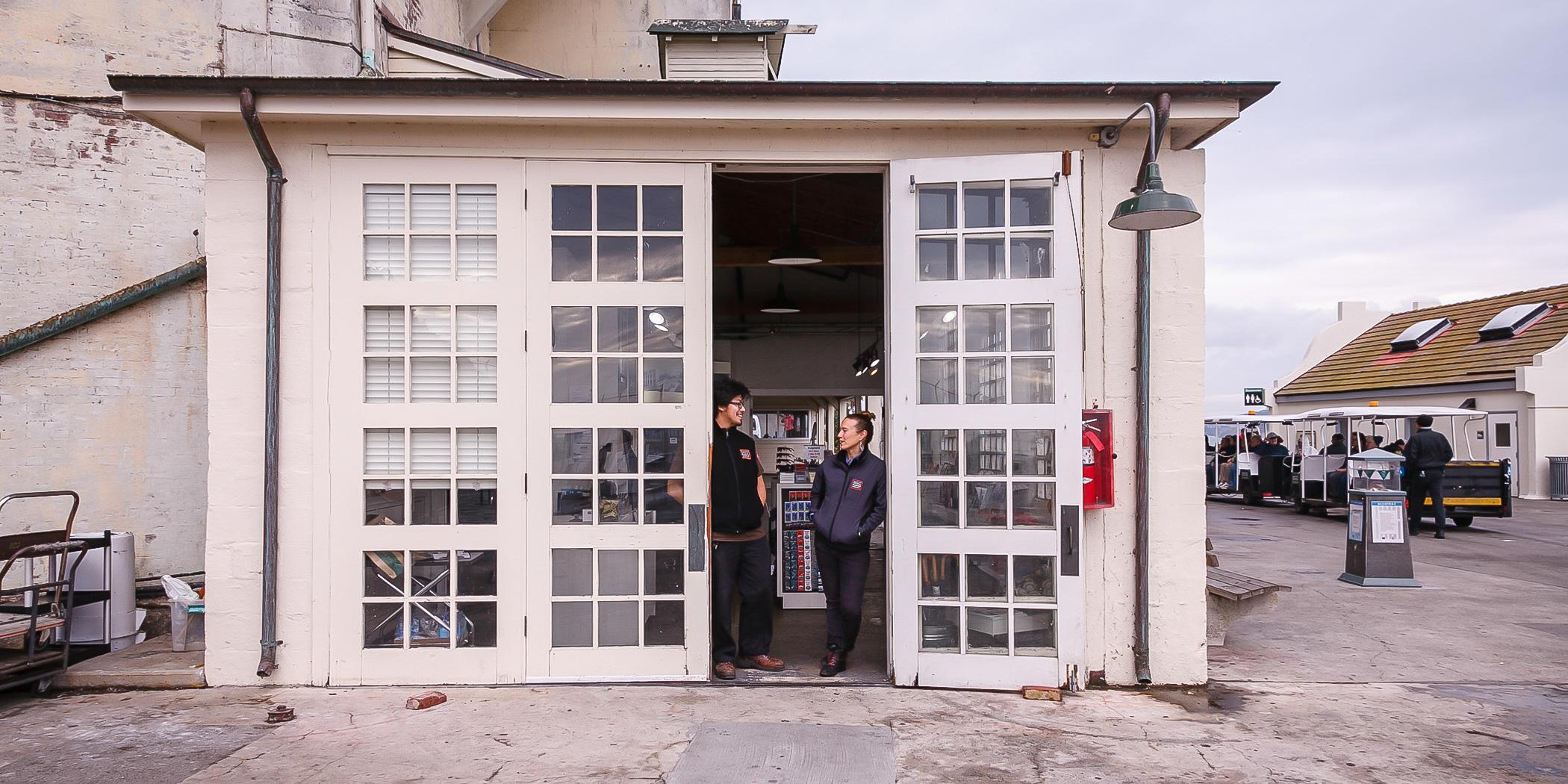 alcatraz island staff