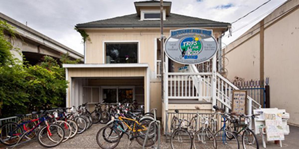ReCyclery Bike Shop in downtown San Rafael