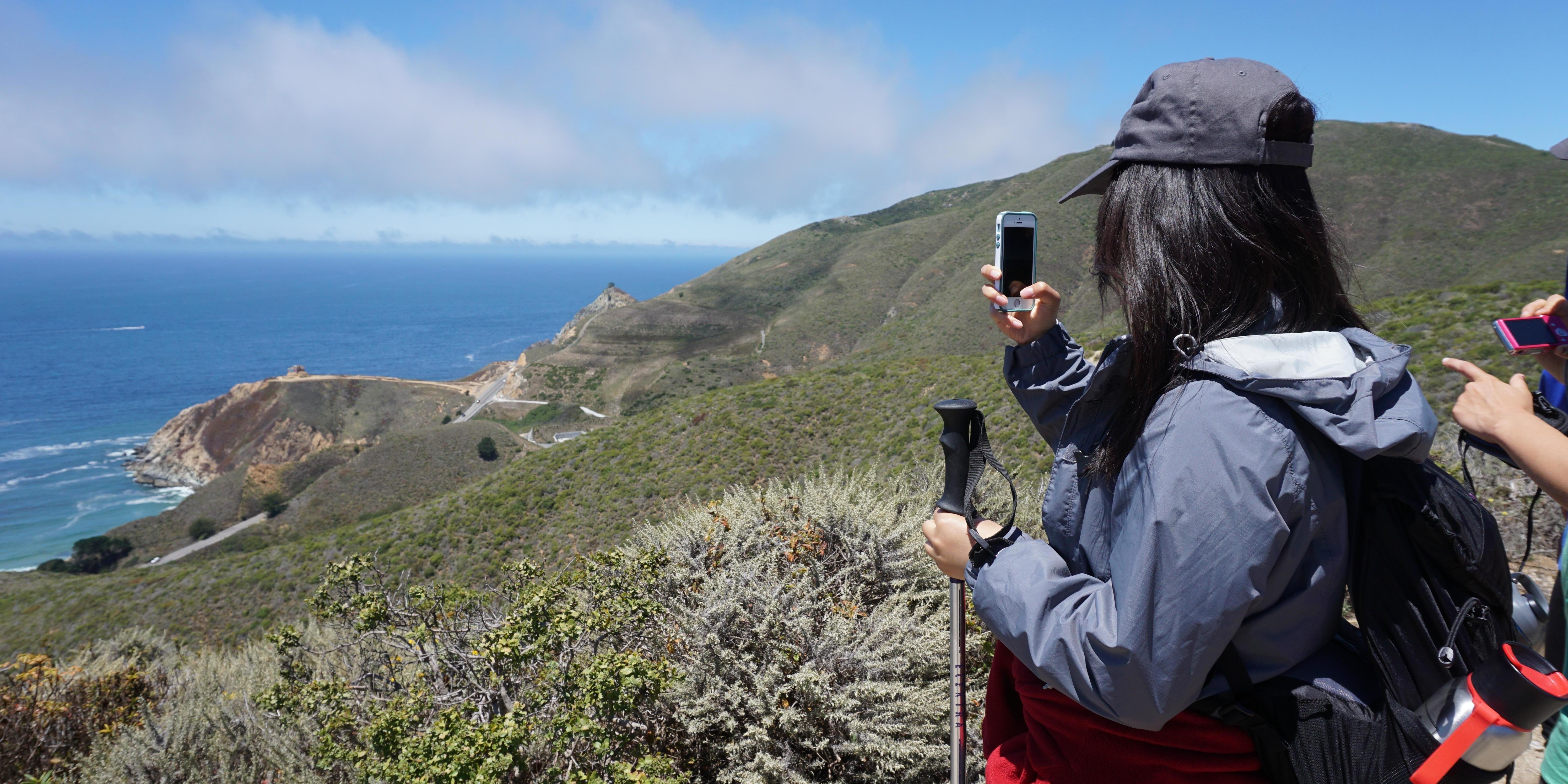 Ocean views from Rancho Corral de Tierra