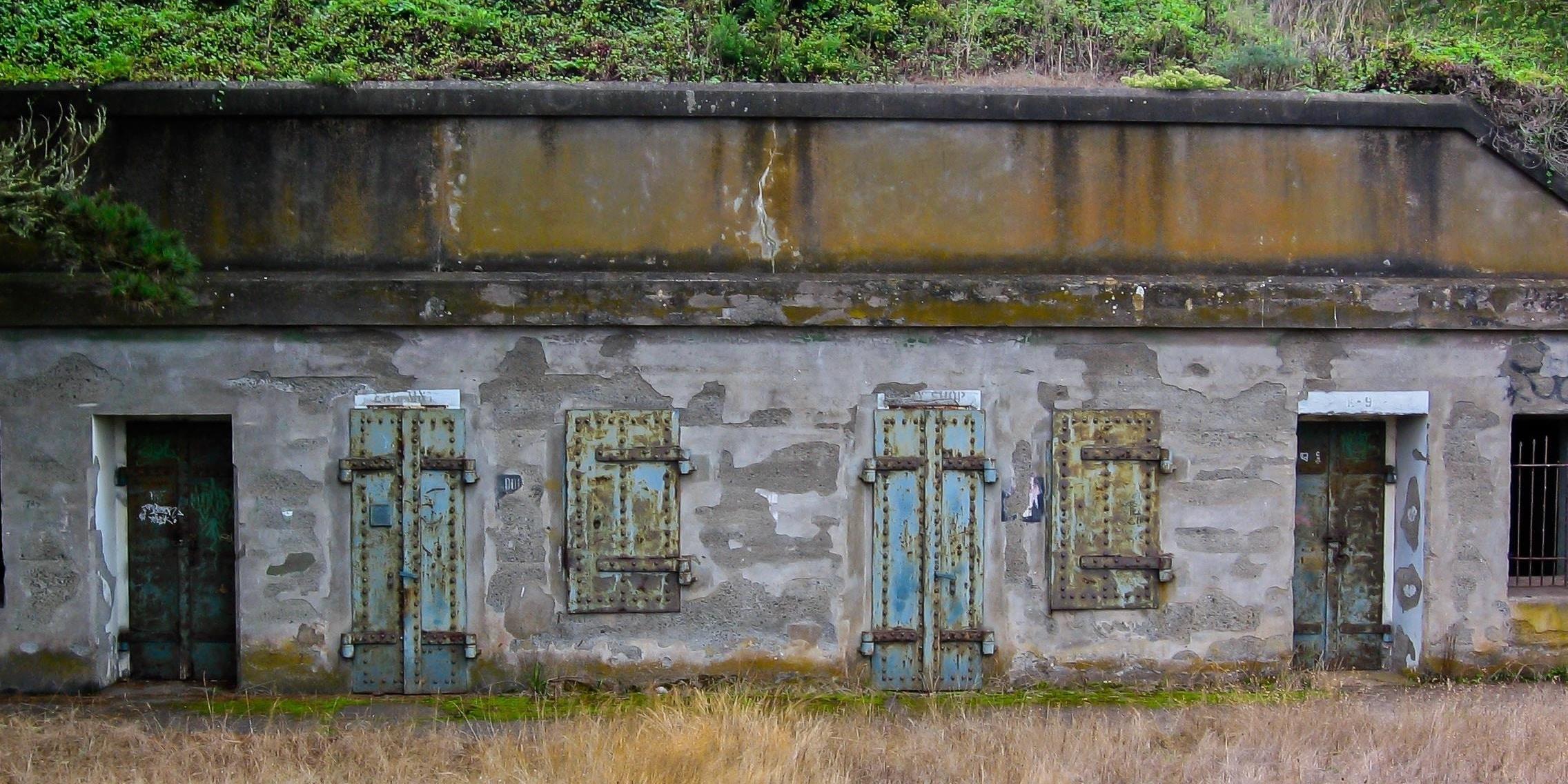 Battery Alexander near Battery Mendell
